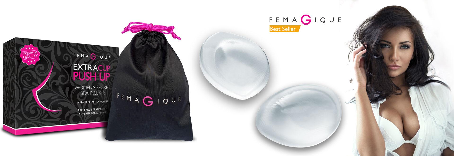 Femagique silicone bra inserts