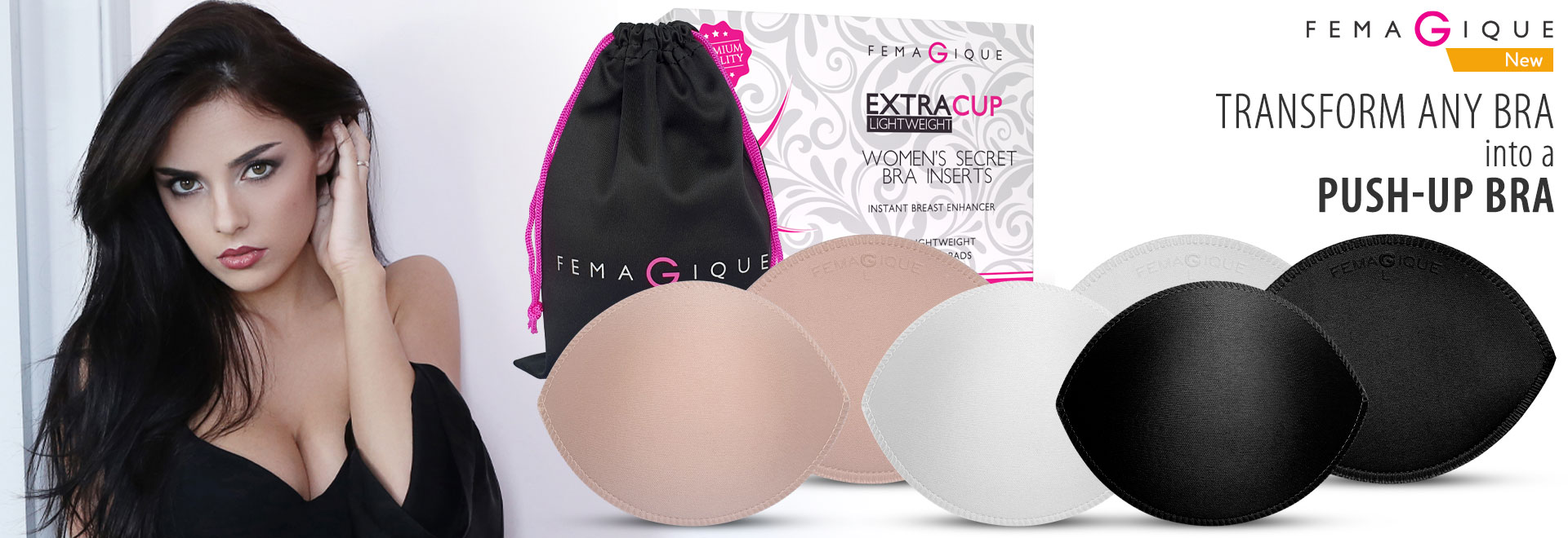 Femagique ultra light push up pads